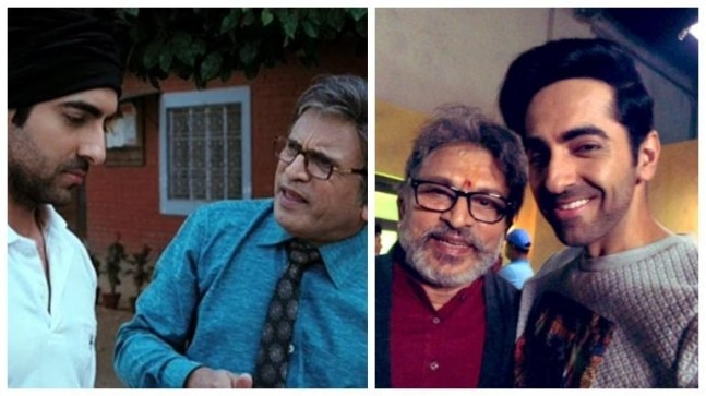 Dream Girl  Ayushmann Khurrana and Annu Kapoor get together 7 years after Vicky Donor - India Today