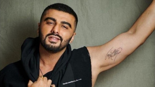 Arjun Kapoor flaunts new tattoo and shares why it is special. Malaika Arora loves it - India Today