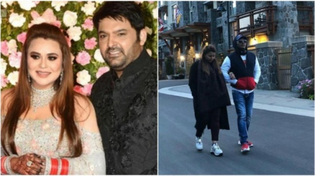 Kapil Sharma enjoys romantic walk with soon-to-be mommy Ginni in Canada. See pic - India Today