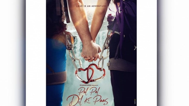 Sunny Deol shares new poster of Pal Pal Dil Ke Paas  Proud to bring the next generation of our family - India Today