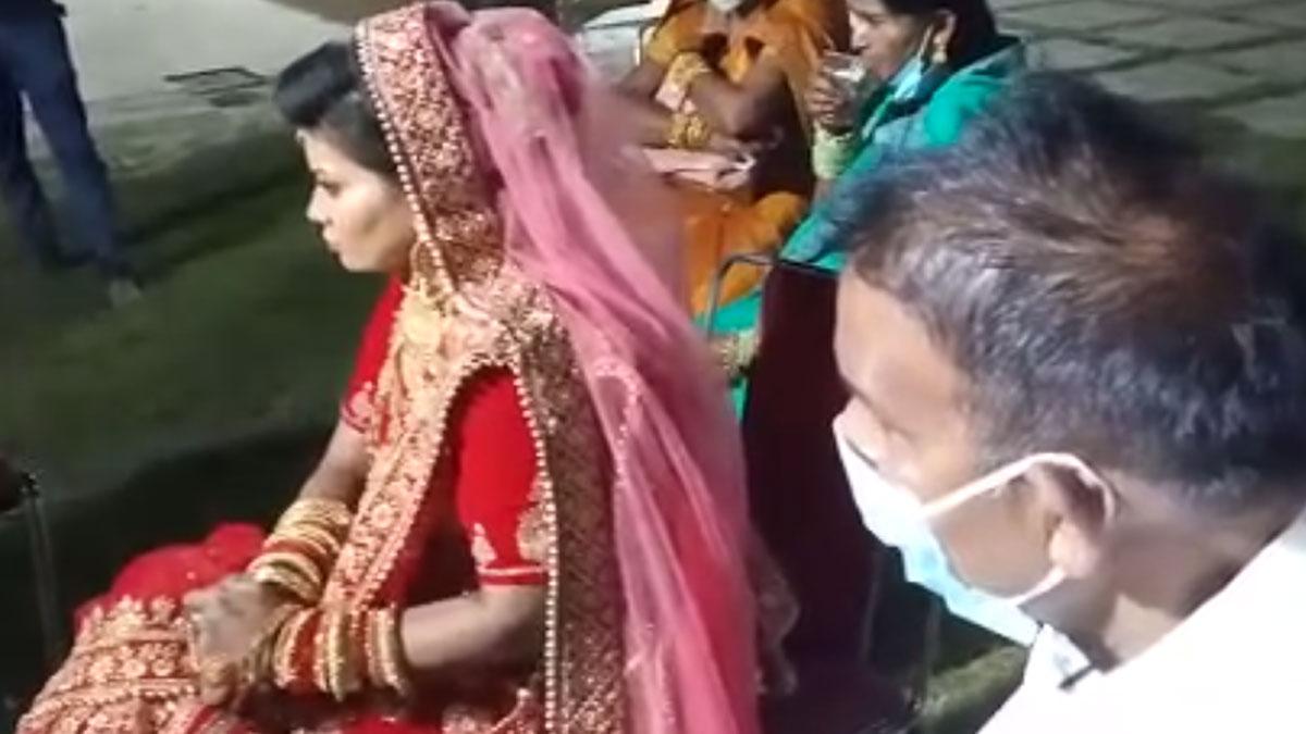 दूल्हे का मोबाइल पर आया मैसेज और टूट गई शादी