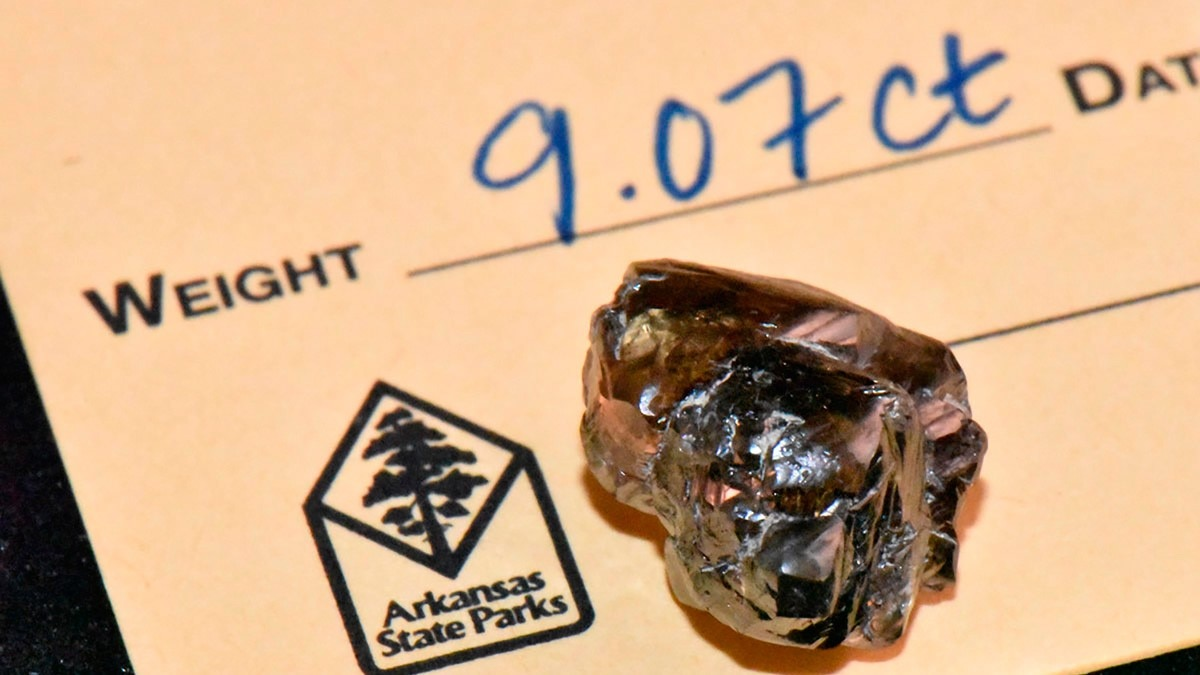 एक शख्स के हाथ 9 कैरेट का हीरा लगा (Photo  Credit AP)