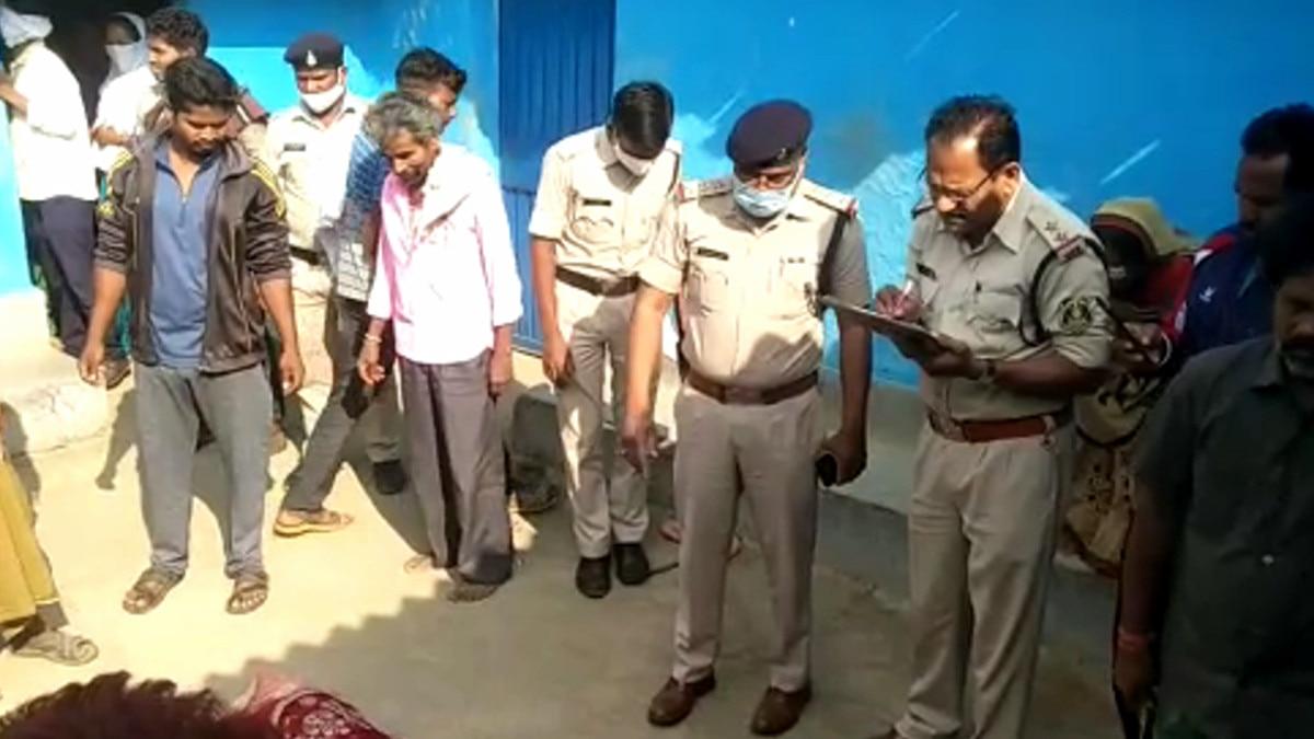 पति ने की पत्नी की हत्या