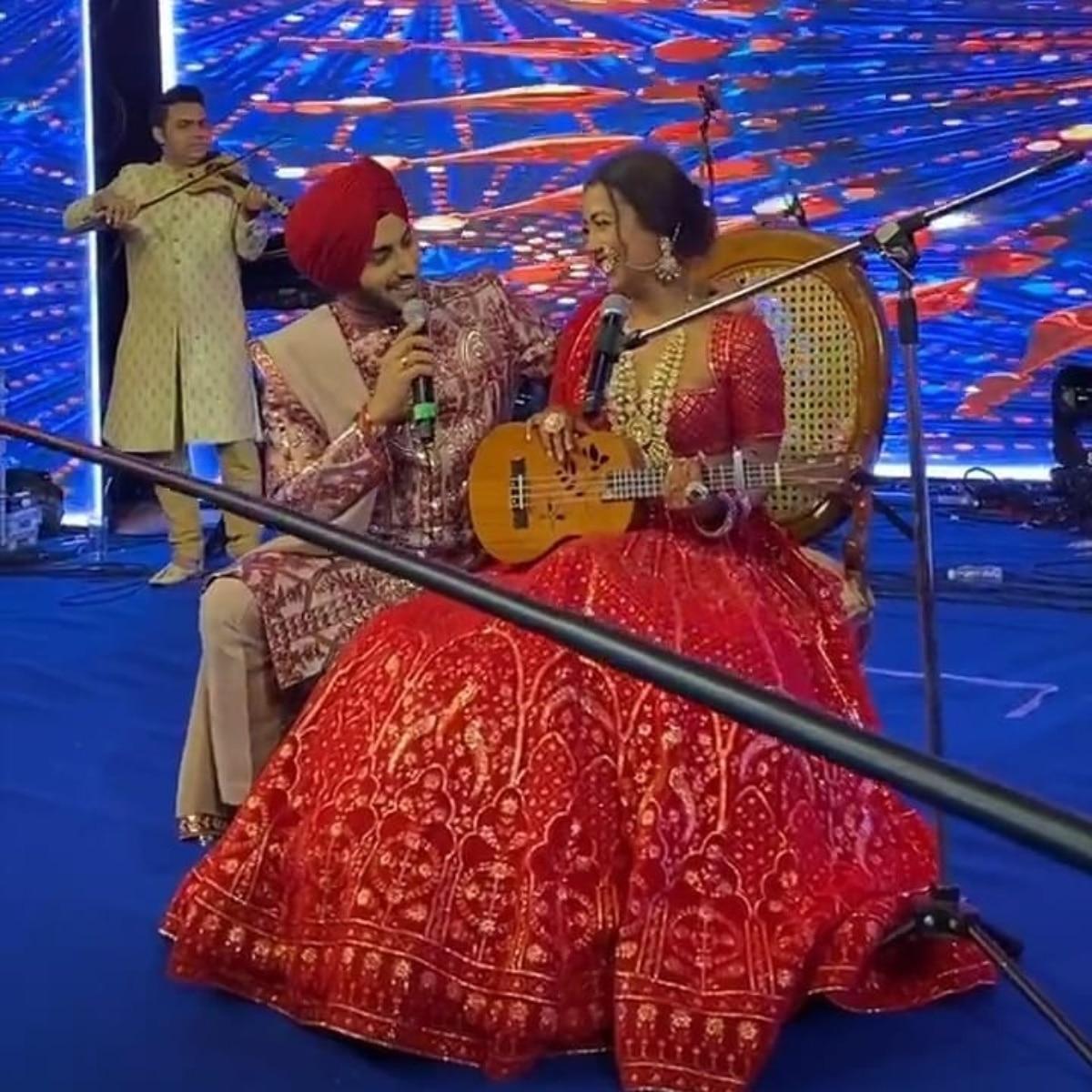 नेहा कक्कड़ और रोहनप्रीत सिंह