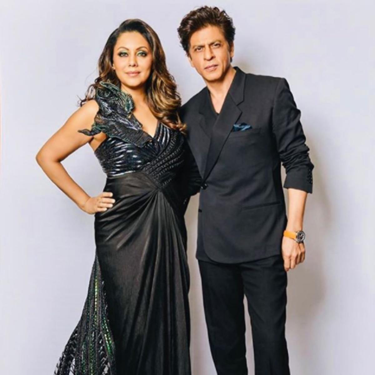 शाहरुख खान और गौरी खान
