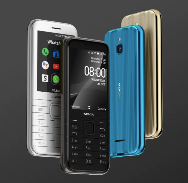 Nokia 8000, 6300 feature