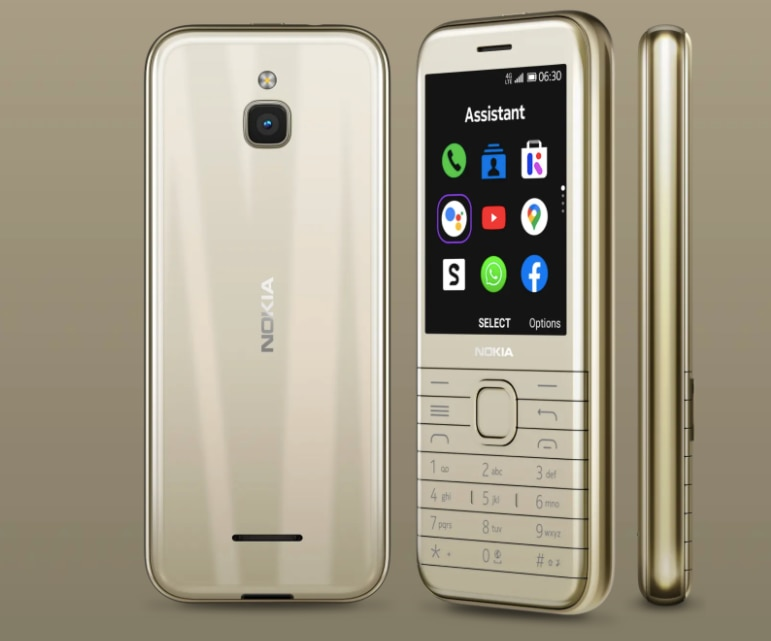 Nokia 8000, 6300 4g feature phone
