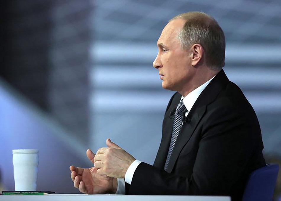 Putin and Krivonogikh