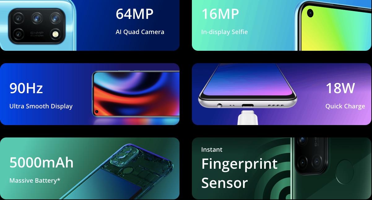 64MP कैमरा, 90Hz रिफ्रेश रेट वाले ये फोन 10 हजार के रेंज में मिल रहे हैं