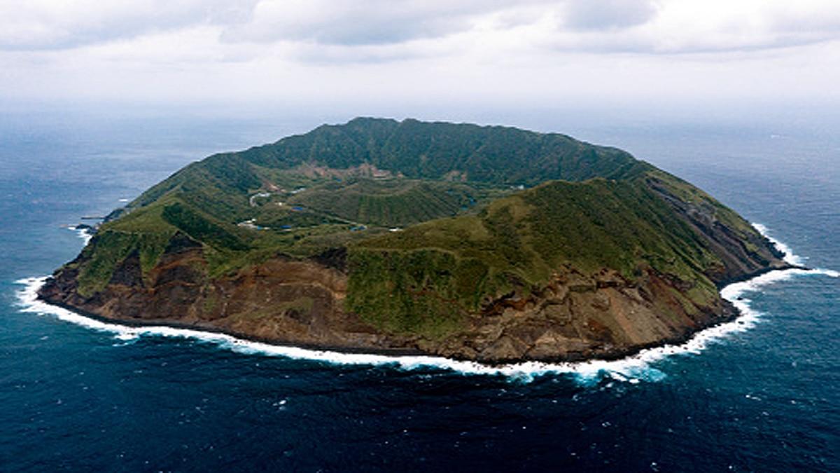 Aogashima Volcanic Island