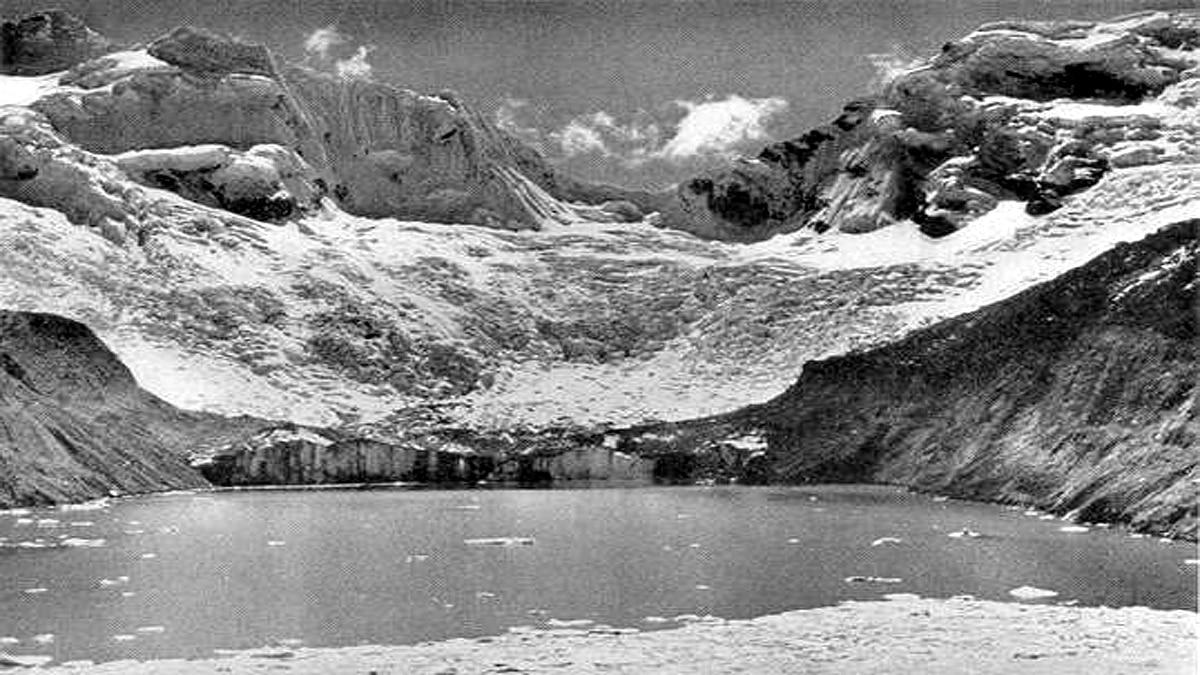 Peru Lake Palcacocha Glacier outburst