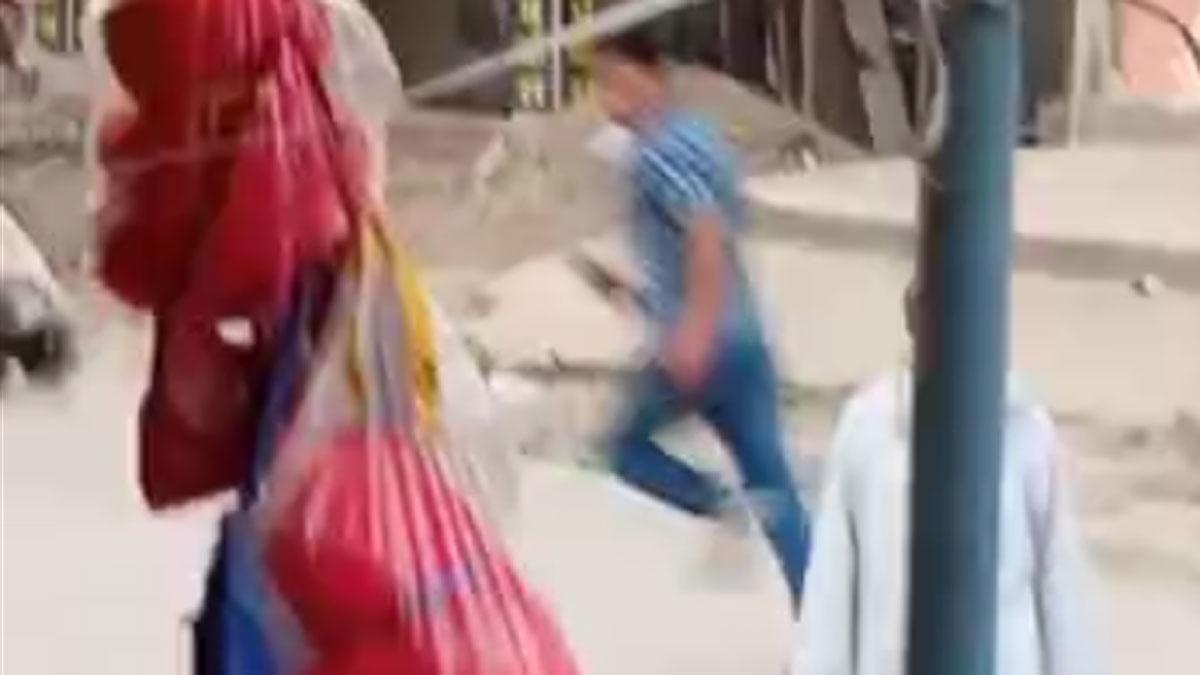 युवक ने दरोगा को जड़ा थप्पड़