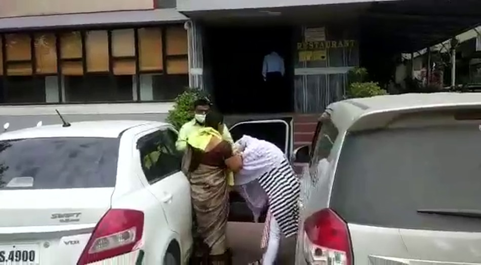 husband caught with girlfriend