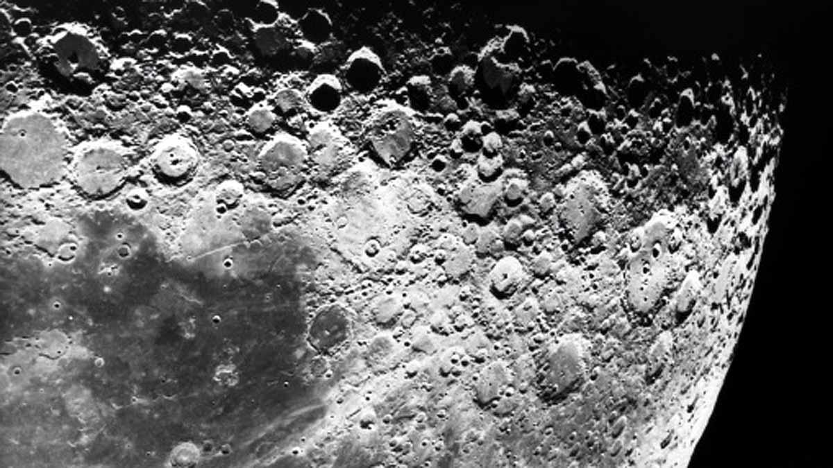 Water Ice Moon NASA Chandrayaan