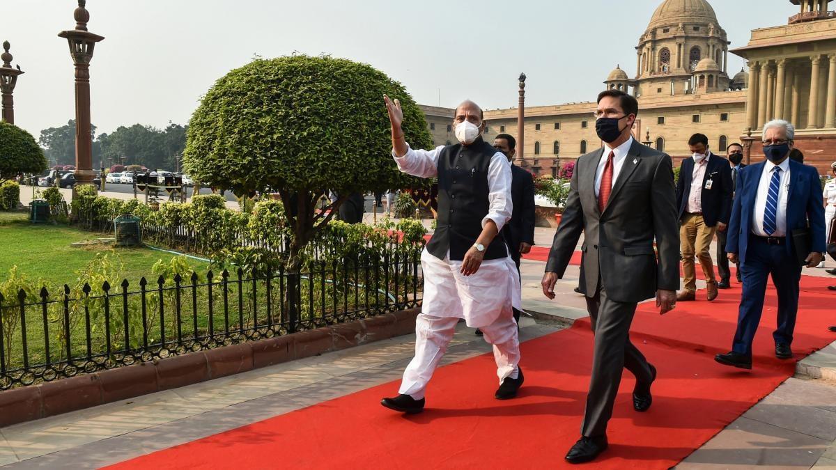भारत और अमेरिका में 2+2 बातचीत