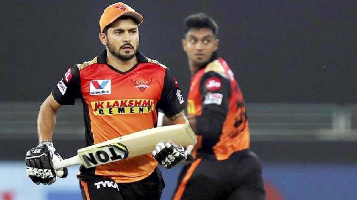 IPL: भारतीय जोड़ी ने SRH को दी 'संजीवनी', मनीष-विजय की पार्टनरशिप ने बचाया
