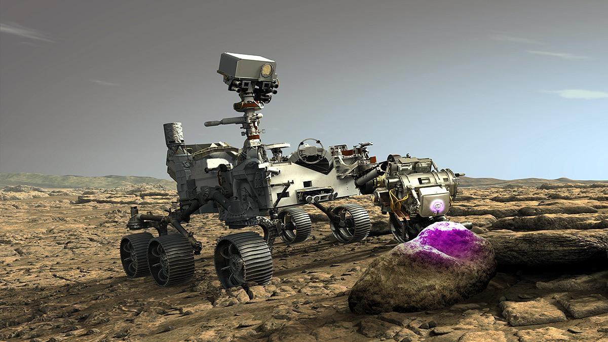 Mars Perseverance Rover: मंगल पर सफलतापूर्वक उतरा NASA का रोवर - NASA Perseverance  Rover successfully Landed on Mars Science TSTR - AajTak