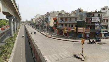 दिल्ली में लगा एक हफ्ते का लॉकडाउन (फोटो: PTI)
