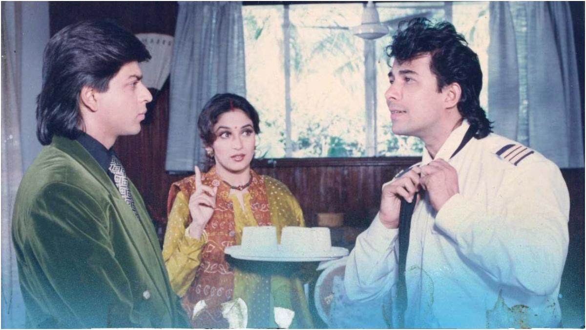 Madhuri Dixit shares 27 years of Anjam, shares photos with Shahrukh Khan – 27 years Anjam Madhuri Dixit shares photos with Shah Rakhan with memorable film tmov