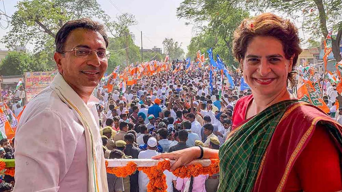 प्रियंका गांधी का यूपी में सियासी दखल बढ़ने के बाद साइड लाइन थे जितिन प्रसाद,  अब पहुंचे BJP के दरवाजे पर - up jitin prasad congress left join bjp  priyanka gandhi said