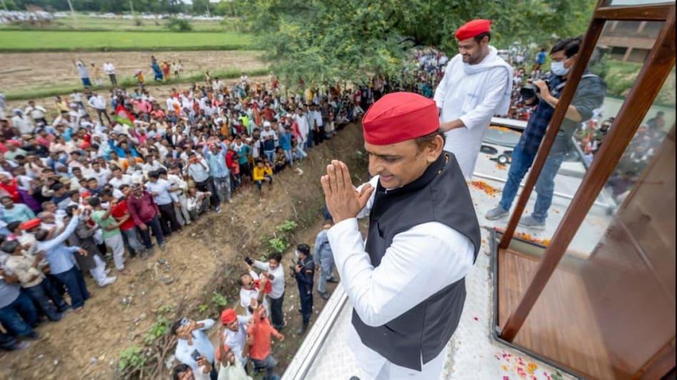 यूपी: उन्नाव में अखिलेश यादव की रथ यात्रा, निषाद समुदाय के नेता की जयंती  में शामिल होकर दिया संदेश - UP ASSEMBLY ELECTION Akhilesh Yadav Rath Yatra  to Unnao nishad voters ntc -