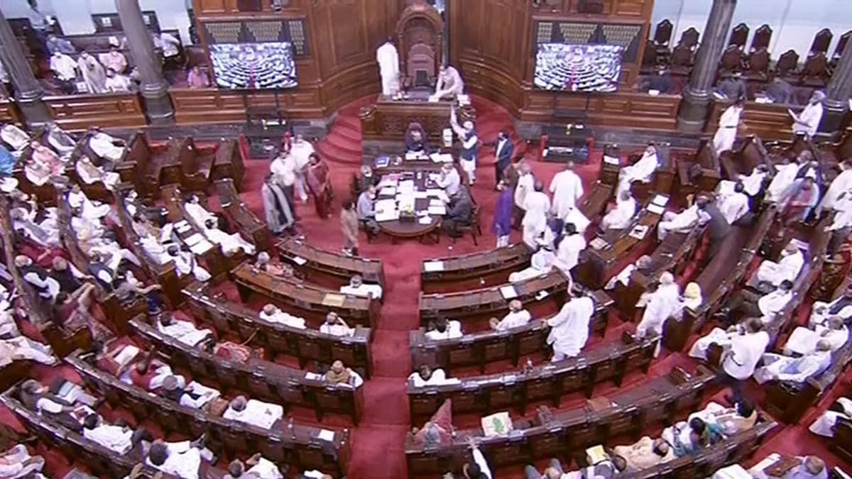 Rajya Sabha drama: TMC MP Shantanu Sen snatches statement from IT Minister Ashwini Vaishnaw
