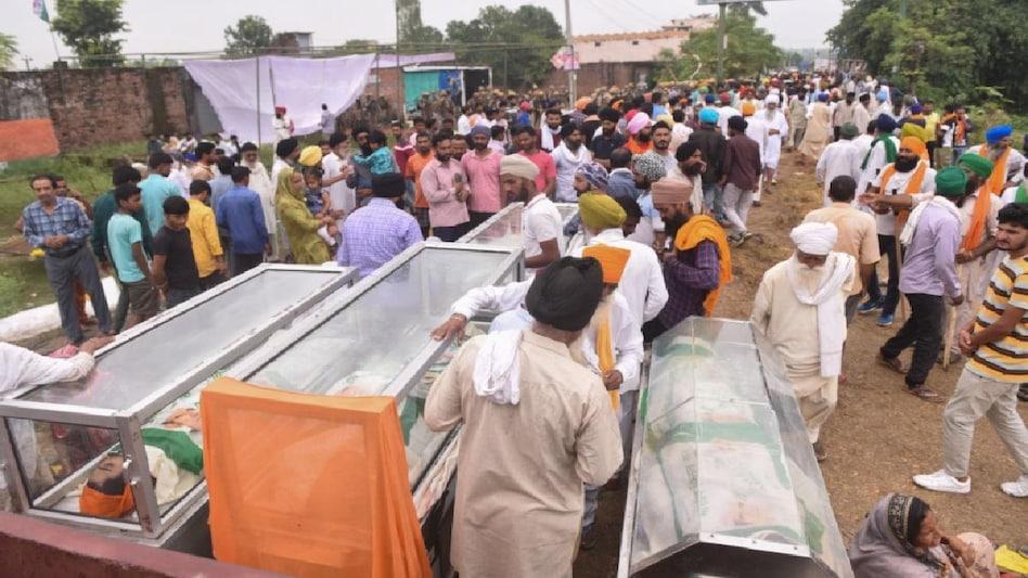 Lakhimpur Kheri Incident: रिटायर्ड जज प्रदीप श्रीवास्तव करेंगे जांच, सभी 8 मृतकों के परिवारों को मिले 45 लाख - Lakhimpur Kheri Incident Inquiry Commission 45 lakh to the family of the all ...