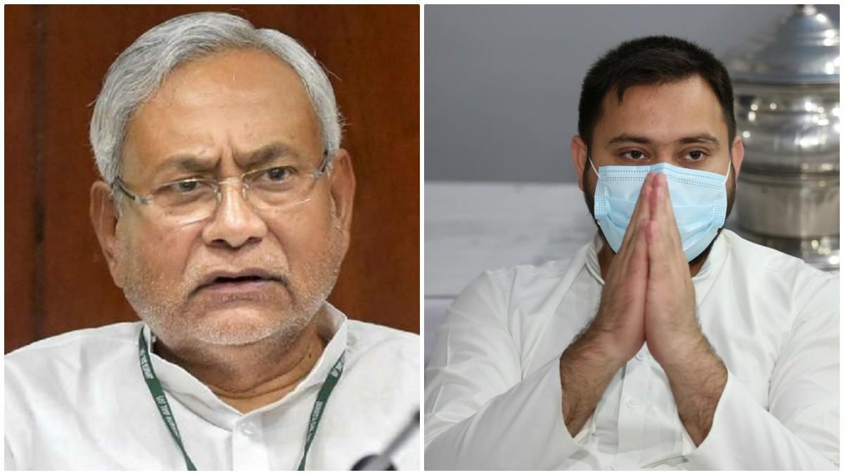 Nitish Kumar and Tejaswi Yadav (File Photo)