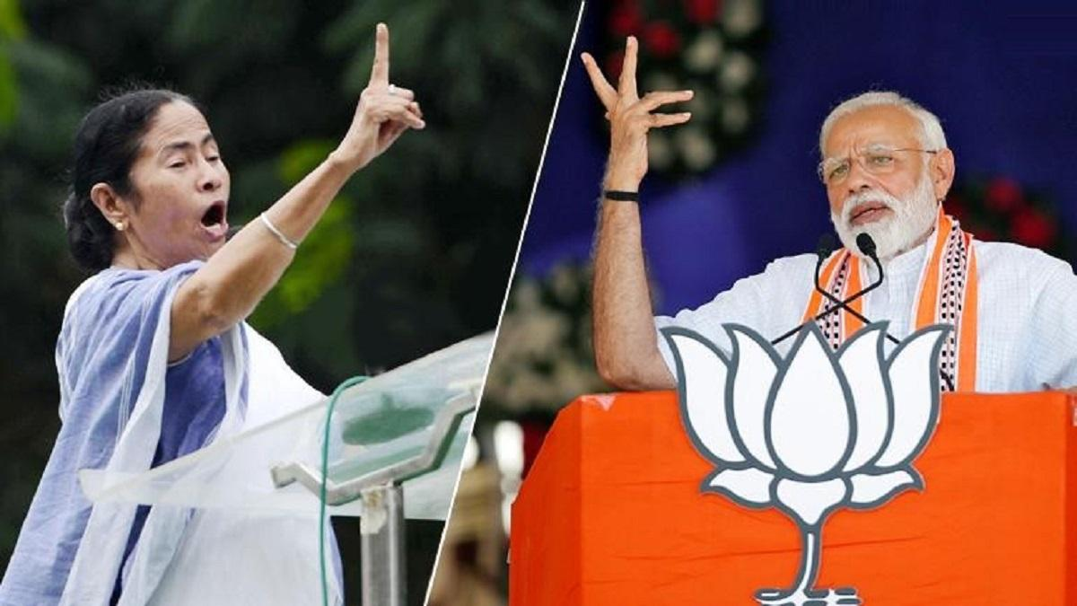 PM Narendra Modi Vs Mamata Banerjee (File Photo)