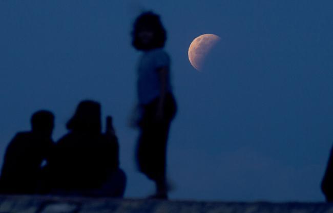 इंडोनेशिया में चंद्र ग्रहण