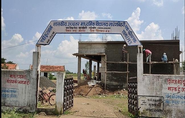Maize Cultivation In Chhindwara School Campus