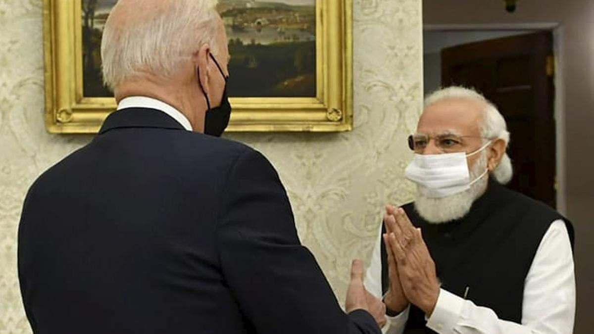 US Prez Joe Biden jokes about possible India connection in meeting with PM Modi