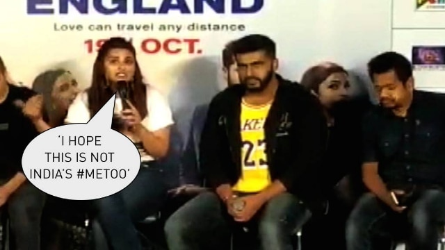 Why did parineeti chopra say she hopes india's #MeToo has not started?