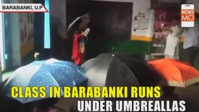 Schools or Rain shelters? Take a look at the condition of this govt. school
