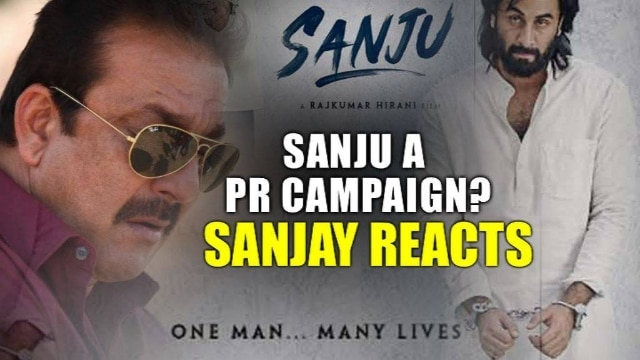 Sanjay Dutt breaks his silence said film is not an attempt to whitewash his image