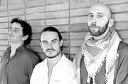 Members of the band Kefaya.