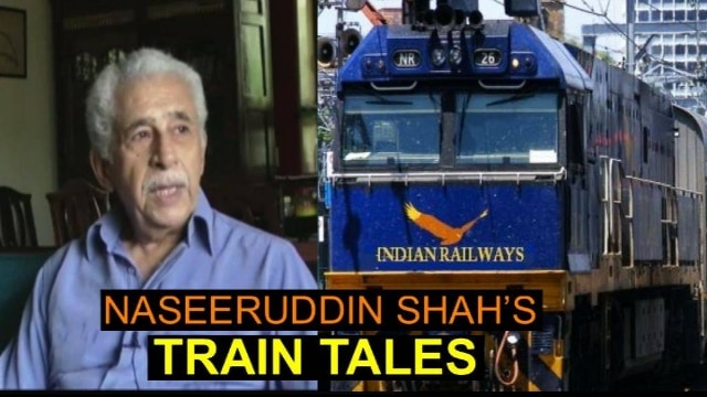 How did Rekha delay Naseeruddin Shah's train?