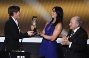 Hope Solo accuses former FIFA president Sepp Blatter of sexual harassment at Ballon d'Or awards