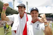 Kevin Pietersen 'ends ANY tension' with Andrew Strauss
