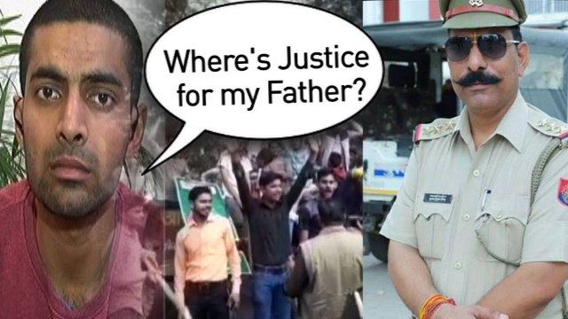 Over a fortnight after his father was murdered by a mob, U.P cop's son asks for justice?