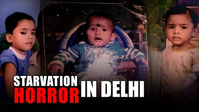 Did little girls die in the national capital of starvation? #ShameOnIndia