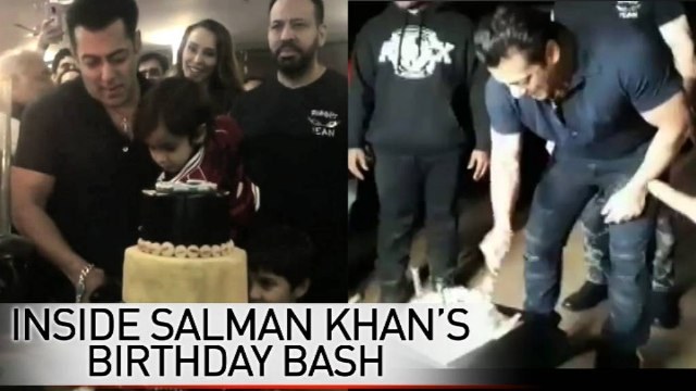 Catch a glimpse of Salman Khan on his special day!