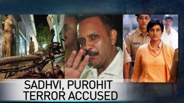 2008 Malegaon blast case: Lt Col Purohit, Sadhvi Pragya charged with terror conspiracy