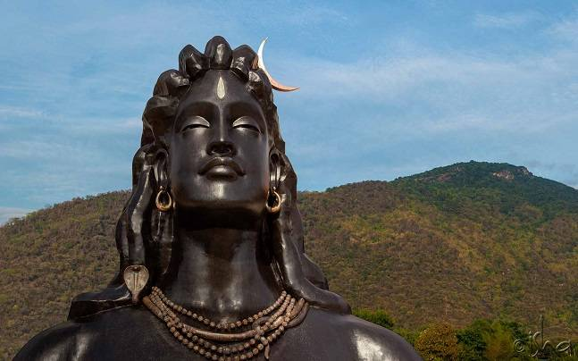 112 Feet Shiva Statue Unveiled In Coimbatore 10 Tallest