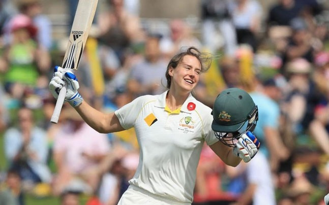 Women's Ashes: Ellyse Perry betters Australia's best, hits ...