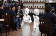 Robot waiters provide new work opportunities for Japan's disabled