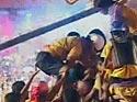 Show of strength at dahi handi