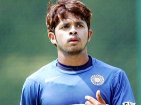 Sreesanth seeks divine blessing