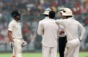 Virat Kohli, frustrated with repeated Sri Lankan complaints over Delhi air quality, misses Test triple hundred