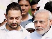 Amir backs Narendra Modi's clean India movement